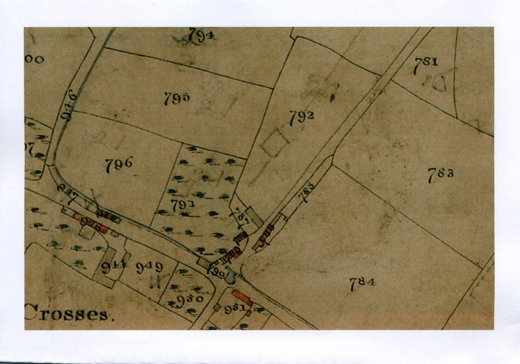 1841 Lowman Cross Tithe map