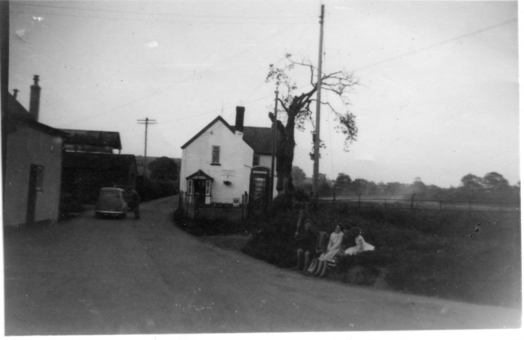 Corner and Field behind the PO pre 1970